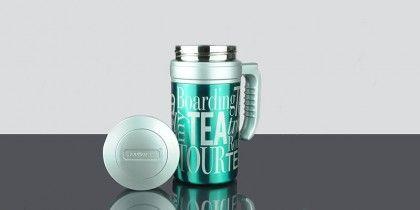 Travel Tea Metallic Turquoise
