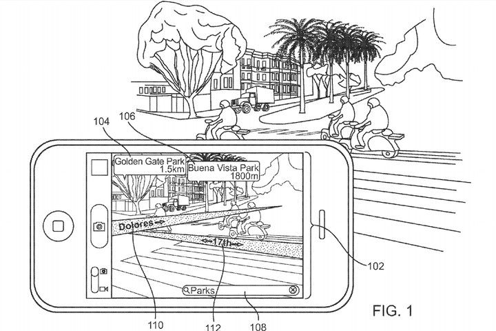 Apple's patent for AR Maps sounds pretty darn useful