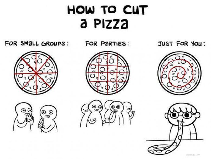 トランプのピザの食べ方wwwwwwwwwwwwwwwwwwww