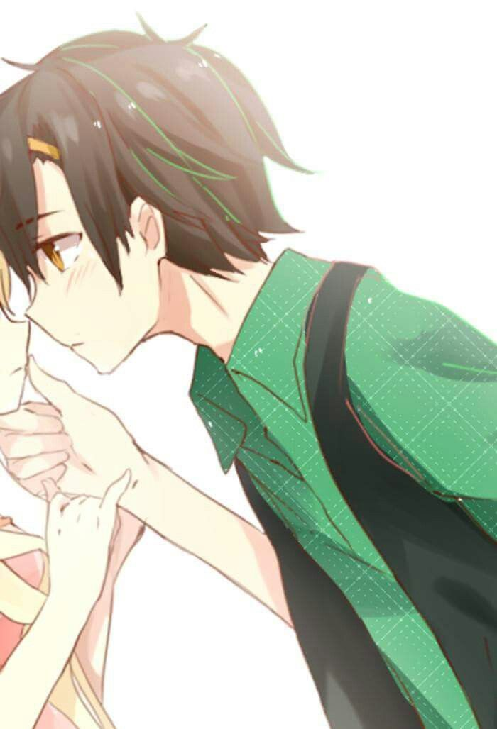 978 best couple phone wallpaper images on pinterest - Anime couple pictures ...