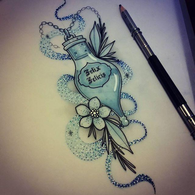 Design henna tattoo