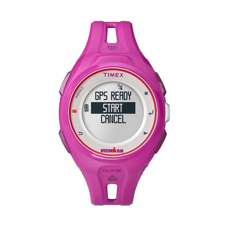 Timex Women's Ironman Run X20 Digital GPS Watch - TW5K87400F5, Pink