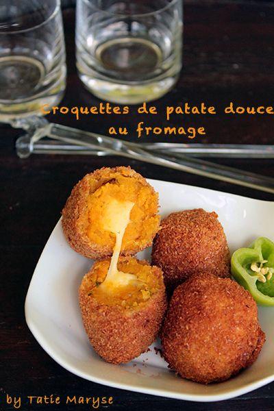 Fondez littéralement pour ces croquettes de patate douce : sous leur croûte, découvrez le fondant du fromage. Une recette créole signée Tatie Maryse!