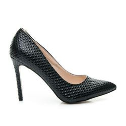 Elegant women's high heels with fine quilted pattern http://cosmopolitus.eu/product-eng-43083-Elegant-womens-high-heels-with-fine-quilted-pattern.html #high #heel #pumps #womens #high #heels #classic #asymmetric