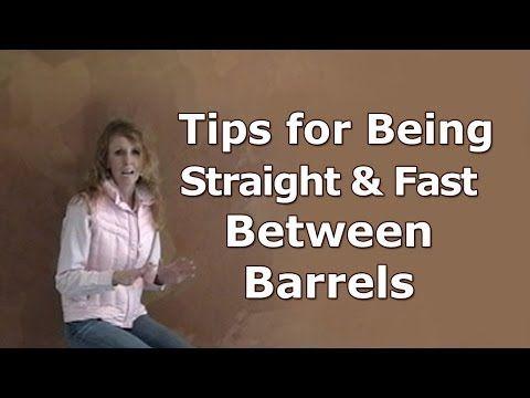 Barrel racing tip