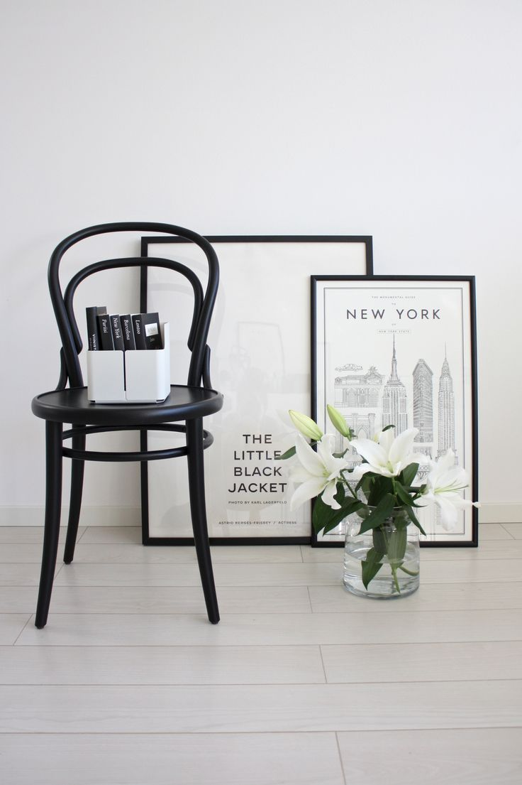 Bentwood chairs white - Black Bentwood Chairs