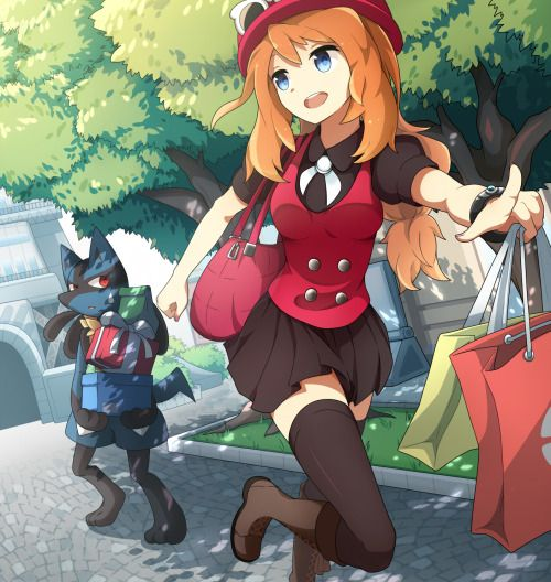 twin-tailed: Shopping by KENT