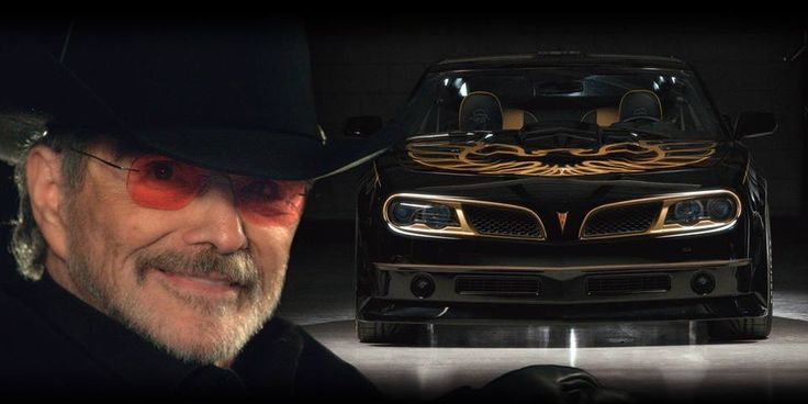 How do you like this #modern take on the #TransAm from Smokey and the Bandit?