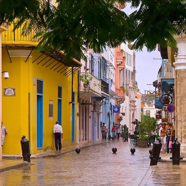 Cuba Travel Quotes: Havana Street, Havana, Cuba