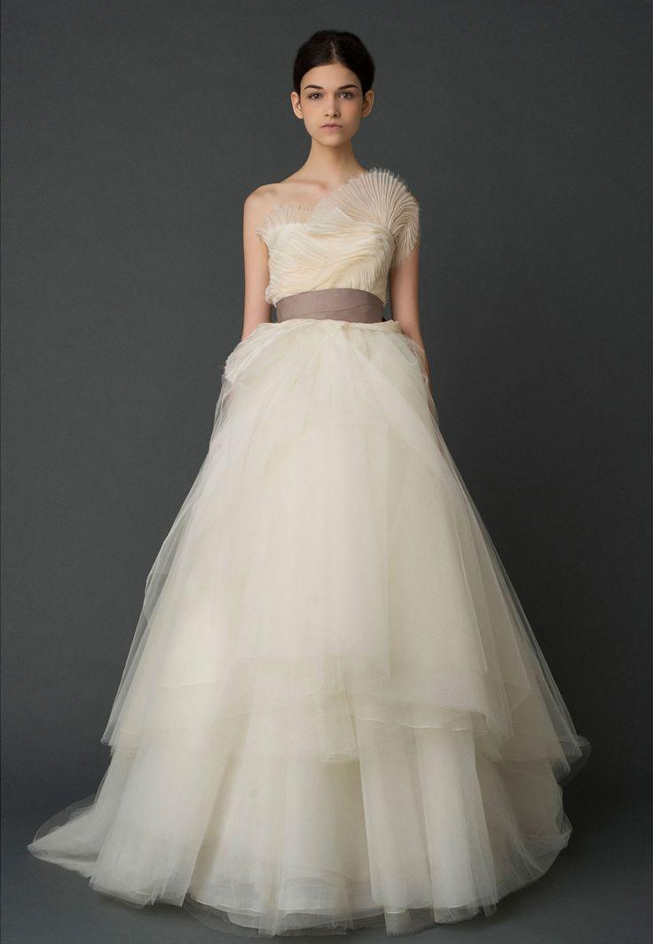 Amazing Hazel Vera Wang Spring Wedding Dress