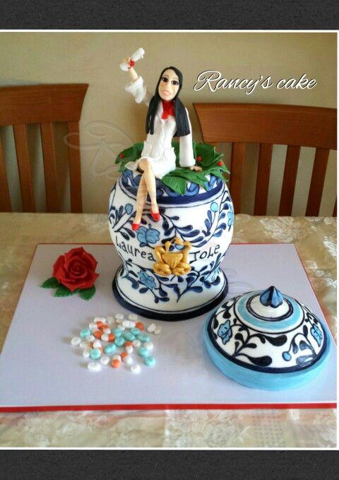 Antico vaso cake