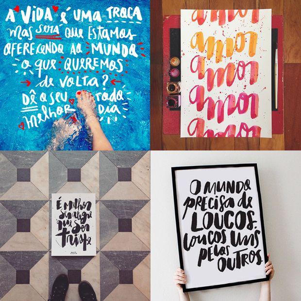 tipógrafos brasileiros calígrafos handlettering instagram Vanessa Kinoshita