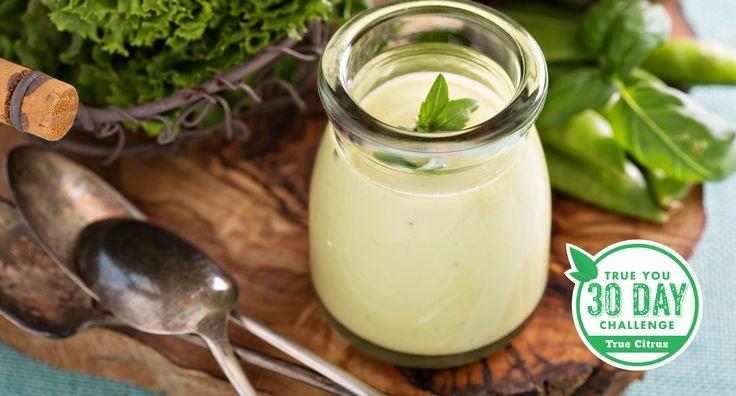 True Lime Spicy Avocado Cilantro Cream Sauce