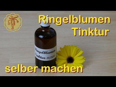 Rezepte: Ringelblumen-Tinktur