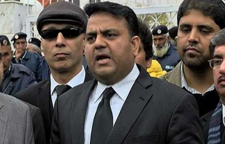 Fawad Chaudhry wants Nawaz Sharif to be placed on ECL