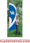Kentucky Wildcats Tall Team Flag 8.5' x 2.5'