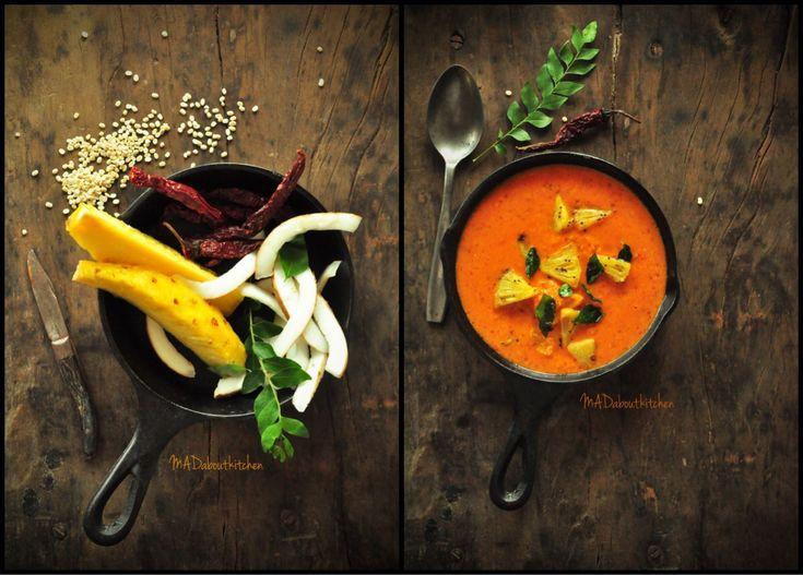 PINeapple Gojju – Pineapple Curry | MADaboutkitchen