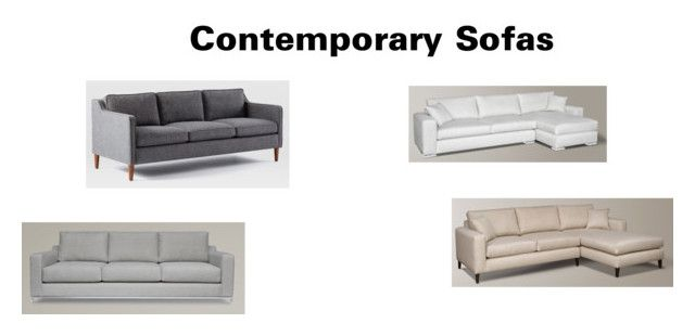 """""""Contemporary Sofas"""" by insideout1 on Polyvore featuring interior, interiors, interior design, home, home decor, interior decorating and contemporary"""