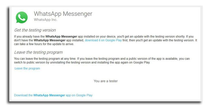 How To Try New Features On Whatsapp Before Anybody Else Softonic Messenger News Tri