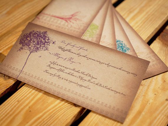 Charming Wintage Style Wedding Invitation Made of by BudapestWP, $2.45