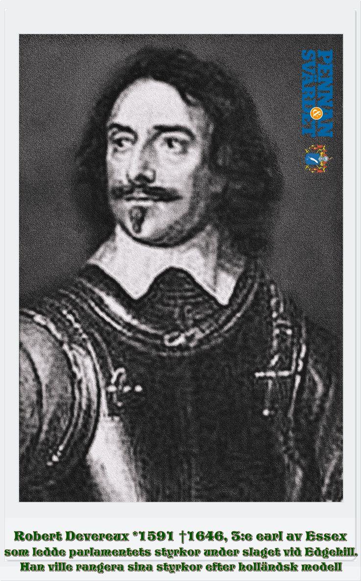 Den engelske kungen Charles I upplöste parlamentet & styrde enväldigt under en 11-årig period. När han ville införa en ny kyrkoordning i Skottland år 1637 utbröt väpnat uppror. Earlen of Essex utsågs till överbefälhavare över parlamentets armé. Han hade tidigare tjänstgjort under den engelske kungen i dennes skotska krig, men bytt sida under turbulensen i det sista parlamentet. I september 1642 lade de sig norr om London för att förhindra kungens armé att ta sig till huvudstaden.
