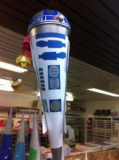 endlich eine R2 D2 Schultüte!!! MEGA