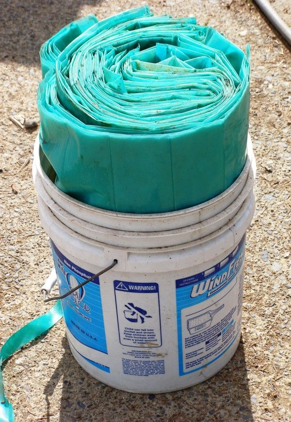 how to close a 5 gallon paint bucket