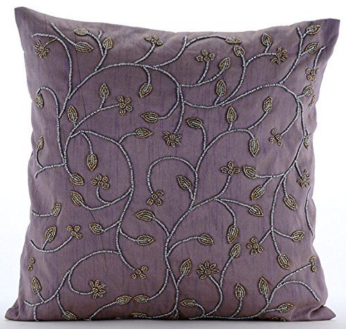 Handmade Purple Throw Pillows Cover for Couch, Beaded Lea... https://www.amazon.com/dp/B016H8VDE0/ref=cm_sw_r_pi_dp_x_zlJ.xb4TH8ABA