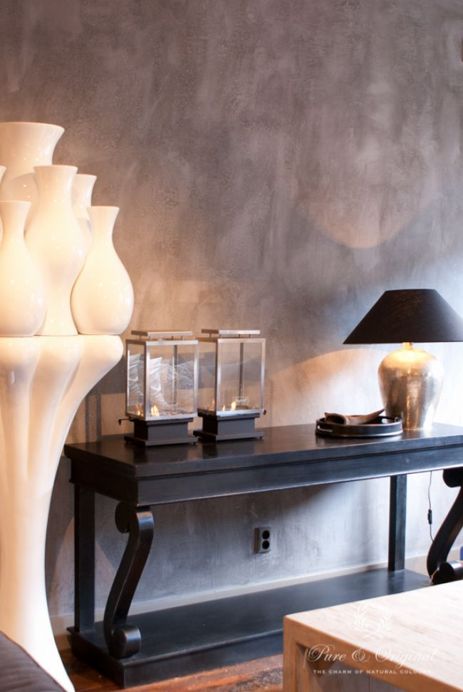 Shading effect that brightens the walls.  By Pure & Original