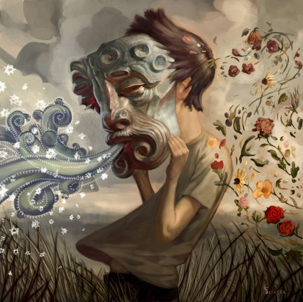 Incredible artwork from Jon Foster via Behance. Beautiful stuff!