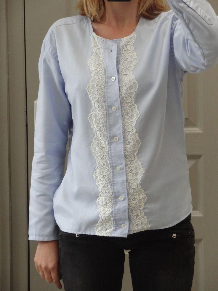 La chronique d'Aurélie //24// Customiser une chemise d'homme - épisode 1 | Lagouagouache