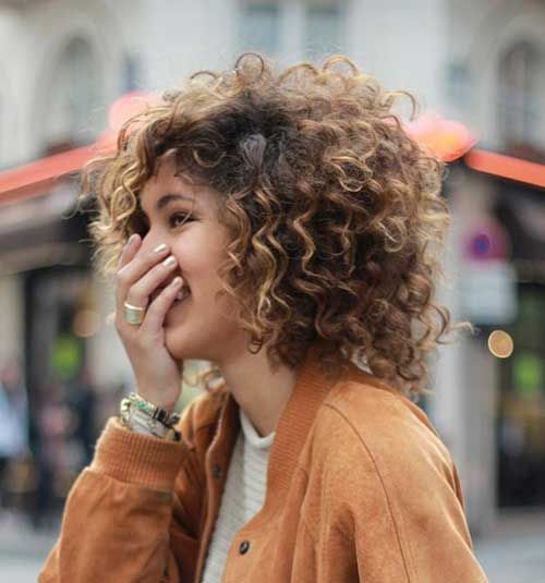 20 Styles for Short Curly Hair