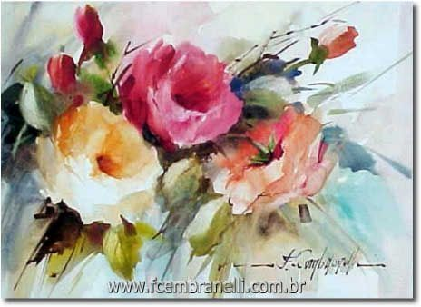 Let's Make a Painting: Step by Step Watercolor Floral Demo, plus many more tutorials by JPT