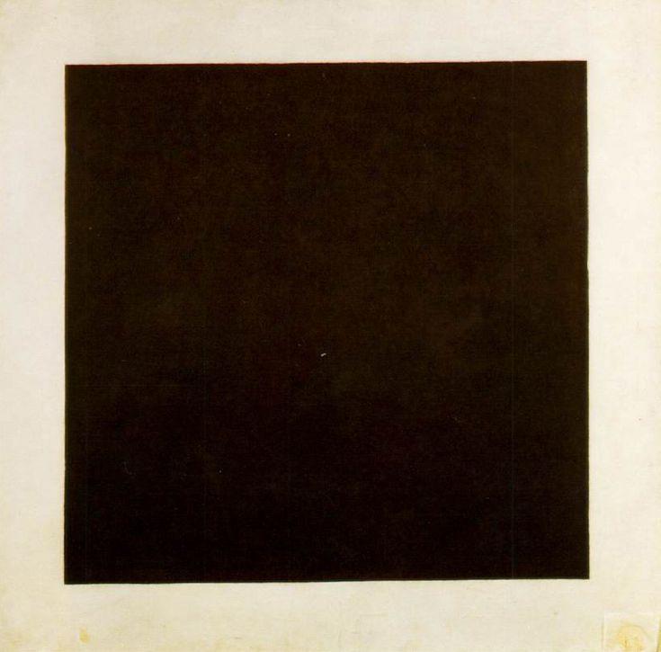 Kazimir Malevich. Black Square (1915).