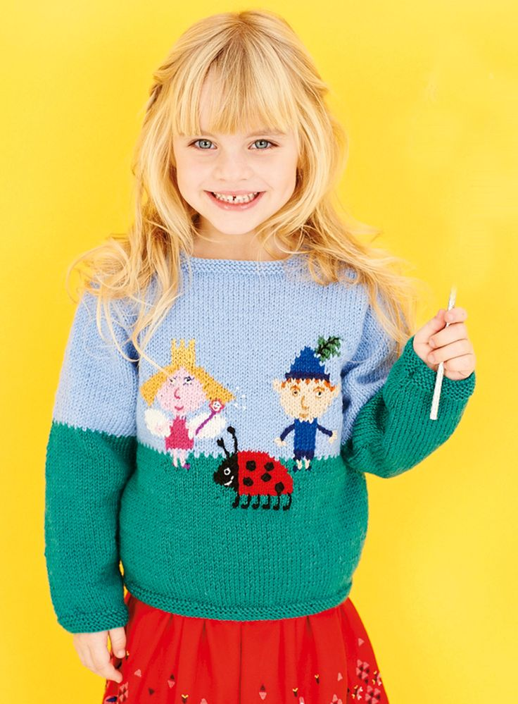Knit This Ben Holly Jumper In Issue 14 Of Womans Weekly