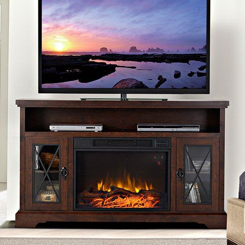 Flamelux Padova 58 in Electric Media Fireplace | from hayneedle.com