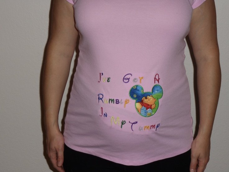 Maternity Shirt With Quot I Ve Got A Rumbly In My Tumbly Quot In