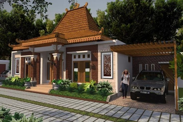 50 Model Rumah Joglo Minimalis Modern Terbaru 2018 Model Desain Rumah Minimalis Di 2021 Desain Rumah Rumah Rumah Minimalis