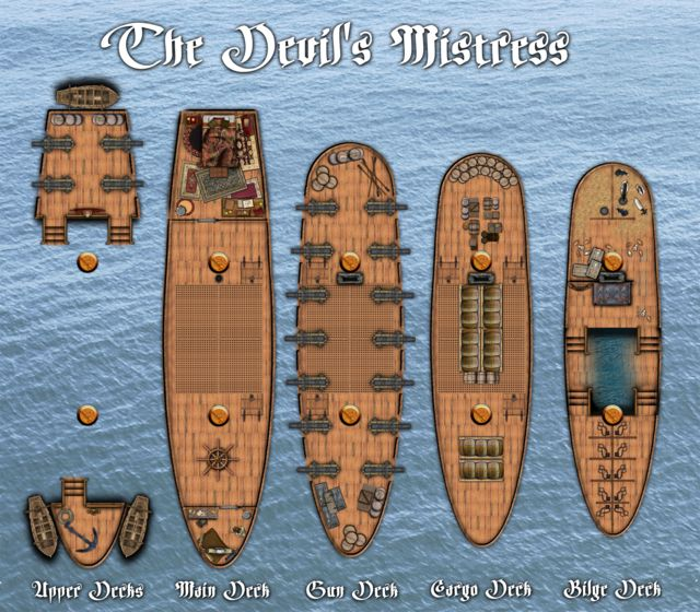 73 Best Images About D Amp D Ships On Pinterest Dungeon Maps