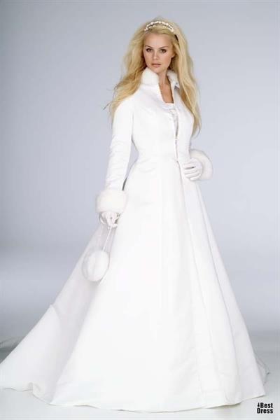 Свадебное пальто для зимней свадьбы