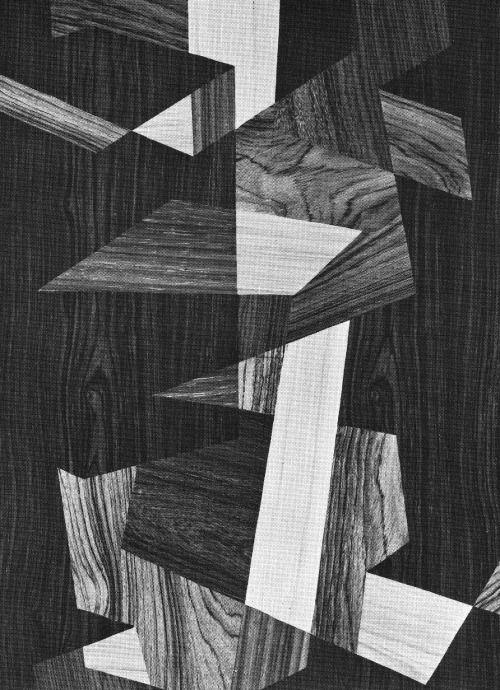 INTARSIA (WOOD VENEER PATTERN), 1960s