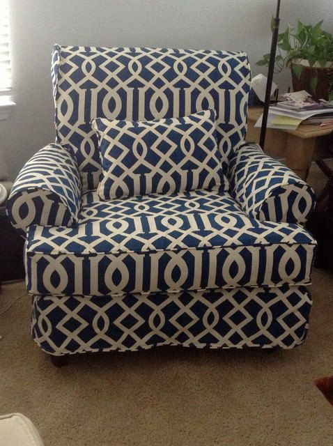 1 Cushion Chair Slipcover Custom Made For Your Chair
