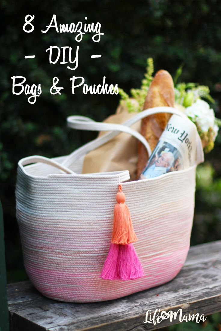 With DIY projects, you can make your mark by incorporating your own personal style. If you're looking for a fun DIY project that will contribute to your purse collection, try one of these 8 ideas!