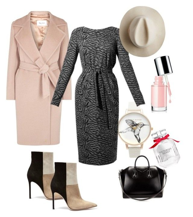 """Autumn looks by winter"" by verushkaclothes on Polyvore featuring косметика, MaxMara, Olivia Burton, Victoria's Secret, Artesano, Givenchy и Gianvito Rossi"