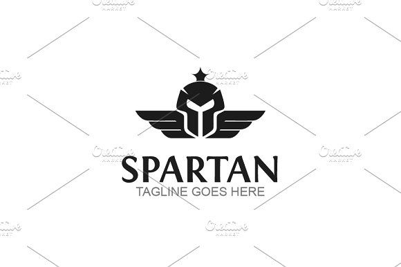Spartan by GoldenCreative on @creativemarket