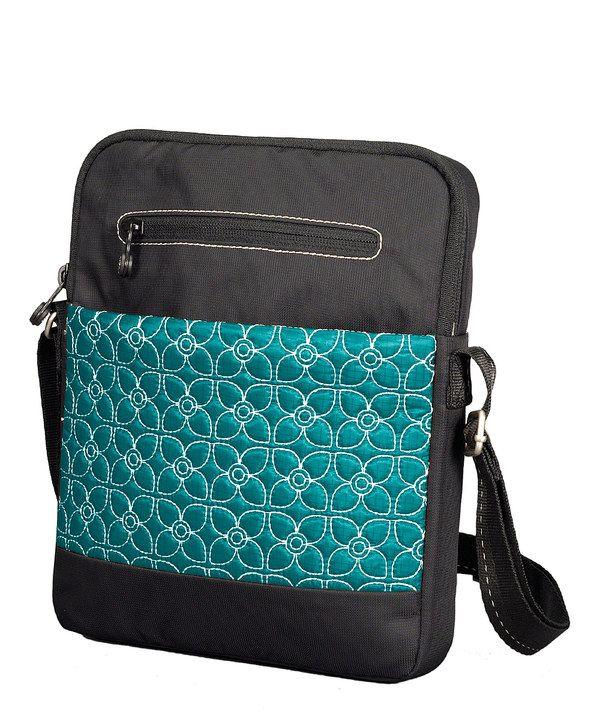Another great find on #zulily! Sherpani Jade & Black App Tablet Crossbody Bag by Sherpani #zulilyfinds