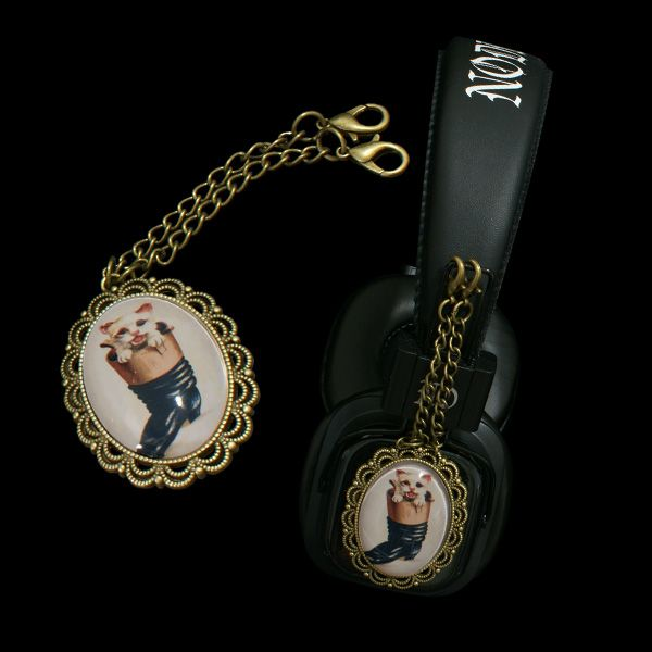 Headphones with Retro style pendants - LIMITED EDITION ----------  http://noddders.com/product/retro-style-headphones/  --------------- #victorian #retro #vintage #comics #cartoons #characters #alternative #collection #collectibles #style #stylish #cat #cats #catlovers #animals #anime #music #noddders #headphones