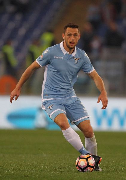 Stefan De Vrij of SS Lazio in action during the Serie A match between SS Lazio and FC Torino at Stadio Olimpico on March 13, 2017 in Rome, Italy.