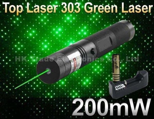 Лазерная 303 200 МВт Зеленая Лазерная Указка Регулируемая Фокусное расстояние и Звезда Шаблон Фильтр Лазерный Фонарик + 4000 МАЧ Батареи + зарядное устройство