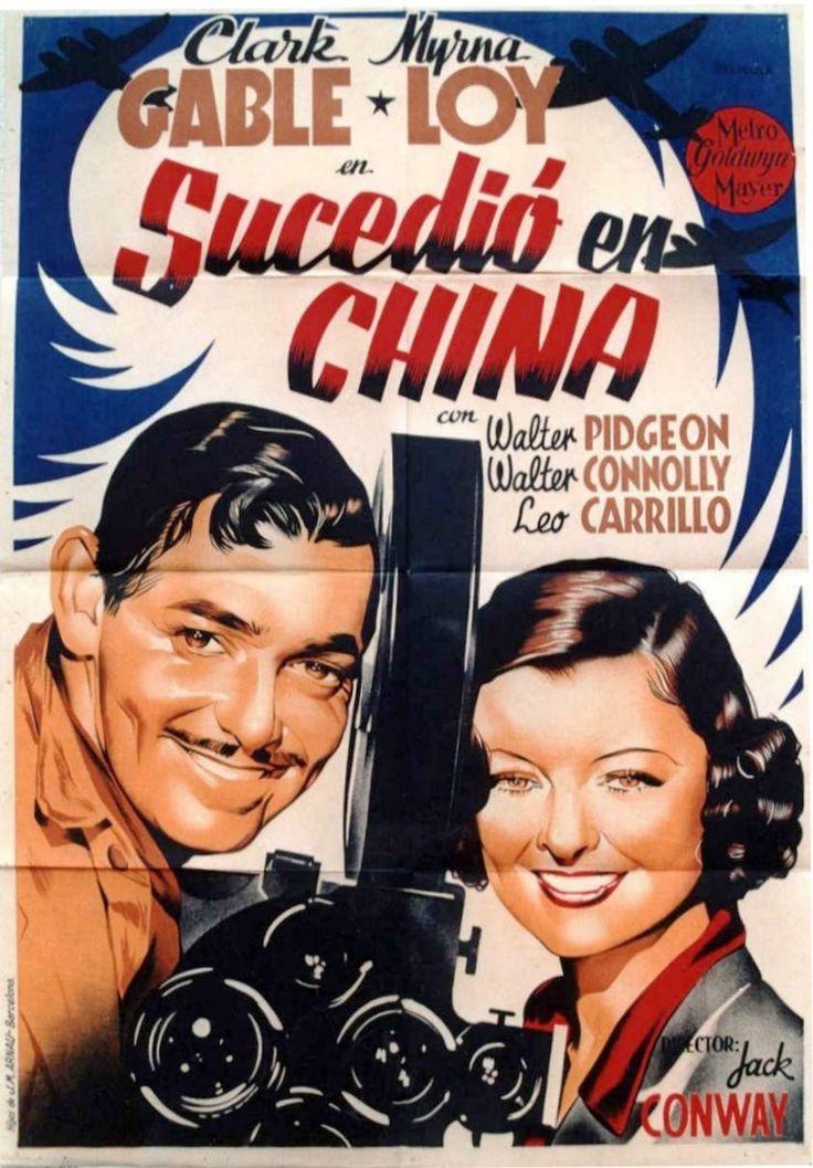 "Sucedió en China (1938) ""Too Hot to Handle"" de Jack Conway - tt0030879"